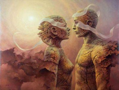 Una hermosa imagen que ejemplifica perfectamente el Topespacio y Subespacio, dicen que una imagen dice mas que mil palabras.