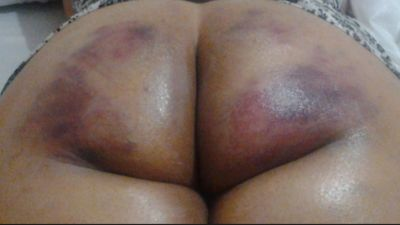 After a good spanking, best is to take care of my Laika 's bottom